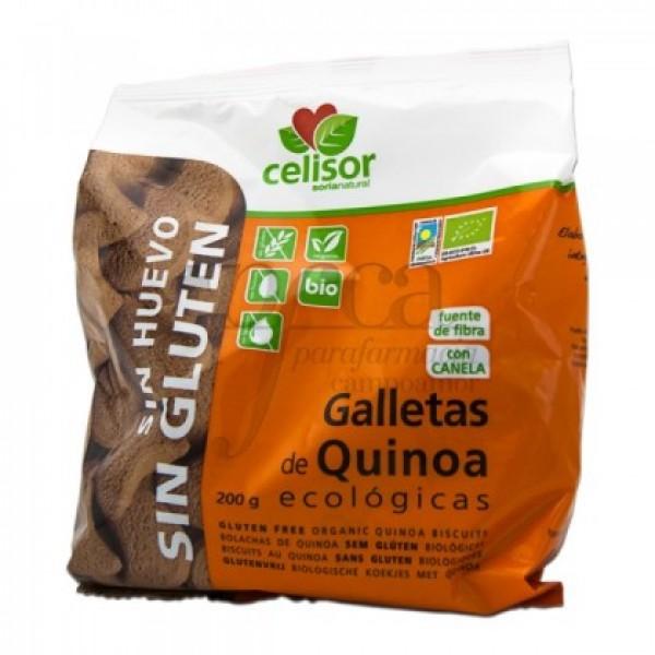 GALLETAS DE QUINOA 200G SORIA NATURAL SIN GLUTEN 40002