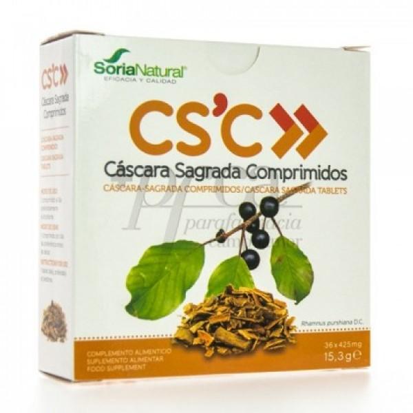CASCARA SAGRADA 36 COMPS SORIA NATURAL R09425