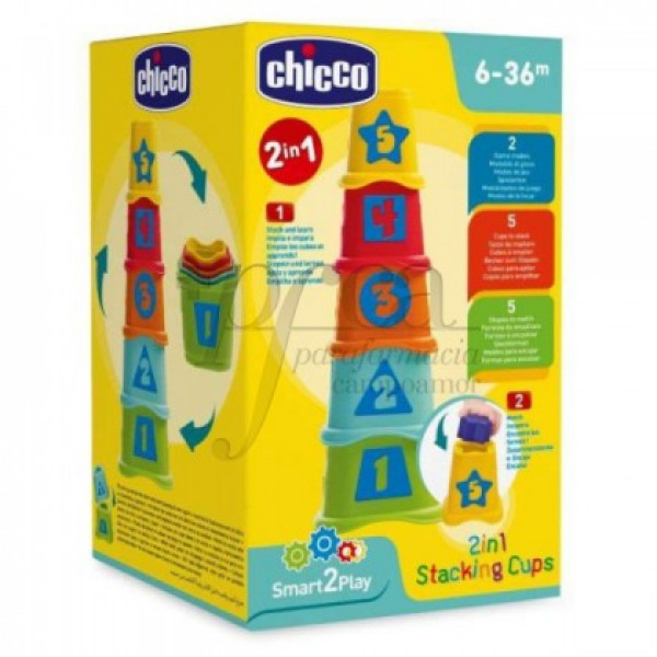 CHICCO 2EN1 CUBOS APILABLES 6-36M