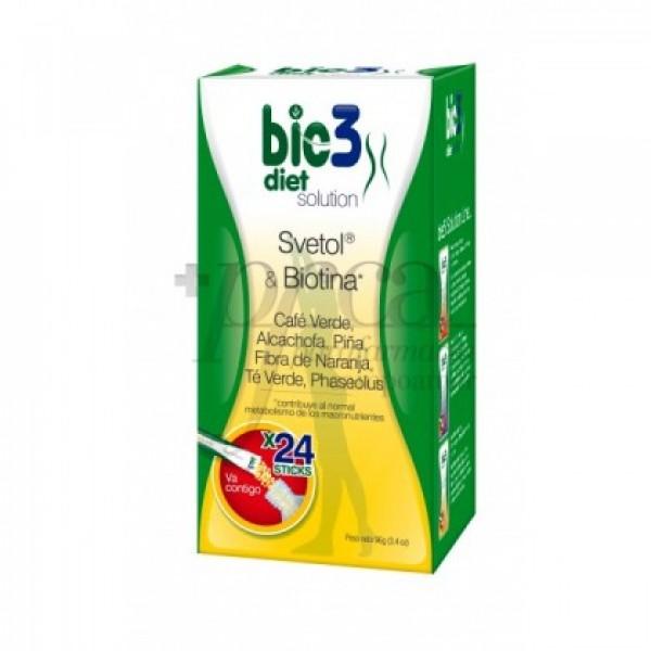 BIE3 DIET SOLUTION 24 STICKS DE 4G