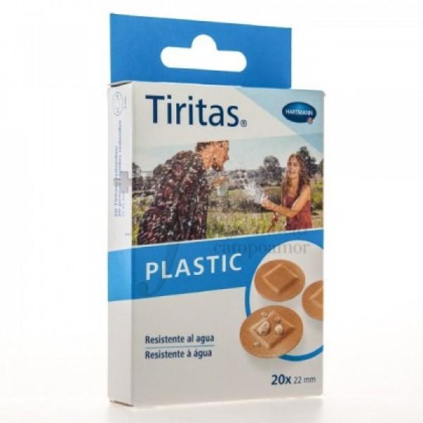 TIRITAS PLASTIC REDONDAS 22MM 20U