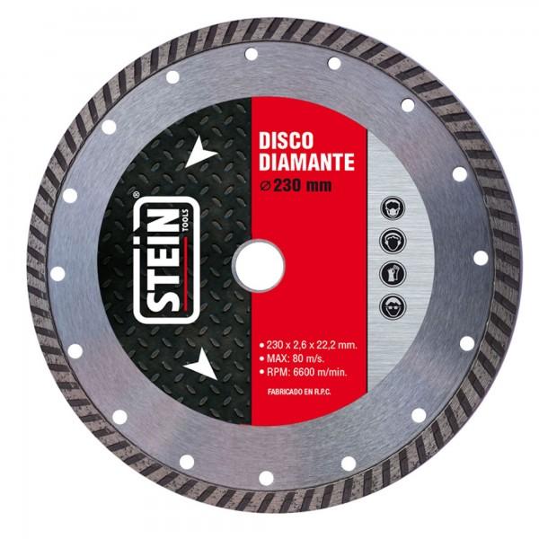 Disco diamante turbo 230 mm.