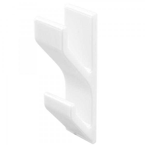 Colgador adhesivo blanco 20x85mm. 2unid