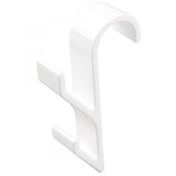 Colgador radiador blanco.20x105mm. 2unid