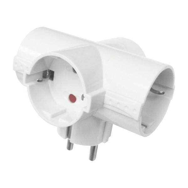 Adaptador onlex 10/16a. 4,8mm.4t.sch.