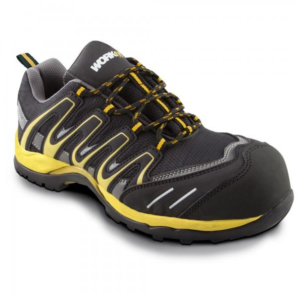 Zapato seg. workfit trail amarillo n.44