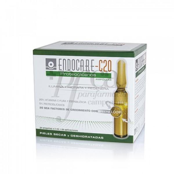 ENDOCARE C20 PROTEOGLICANOS 30X 2ML