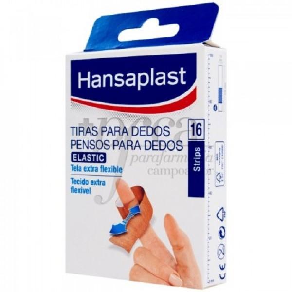 HANSAPLAST TIRAS ELASTICAS PARA DEDOS 16U