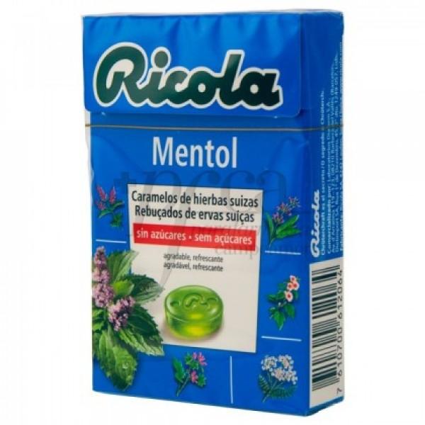 RICOLA MENTOL CARAMELOS 50G