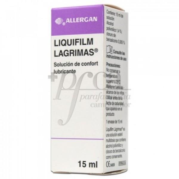 LIQUIFILM LAGRIMAS SOLUCION LUBRICANTE 15ML