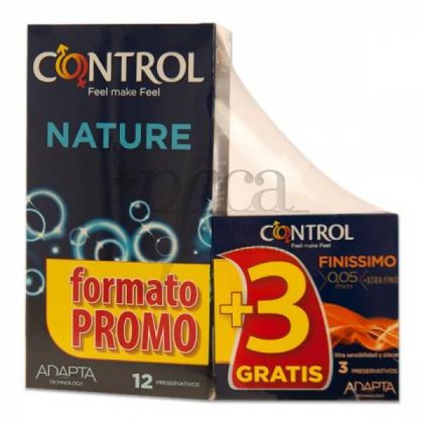 CONTROL NATURE 12U + 3U FINISSIMO PROMO