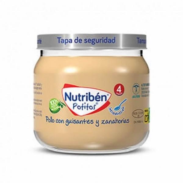 NUTRIBEN INICIO POLLO GUISANTES ZANAHORIA 120 G