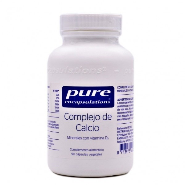 PURE ENCAPSULATIONS COMPLEJO DE CALCIO 90 CAPS