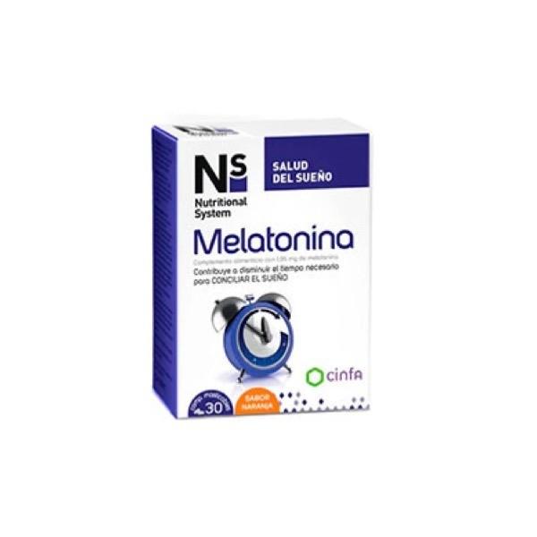 NS MELATONINA 1,95MG 30 COMPS MASTICABLES