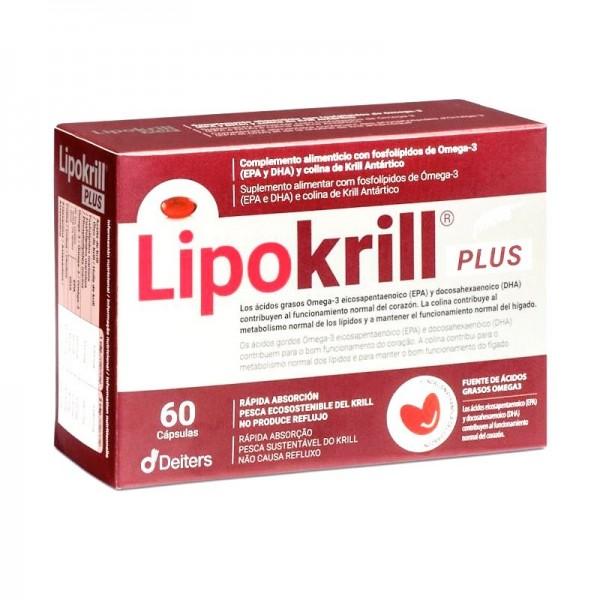LIPOKRILL PLUS 60 CAPS DEITERS