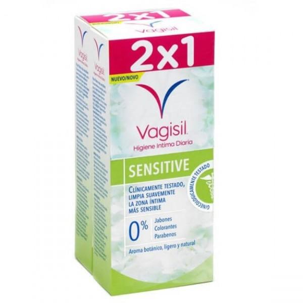 VAGISIL SENSITIVE HIGIENE INTIMA 2X 250ML PROMO
