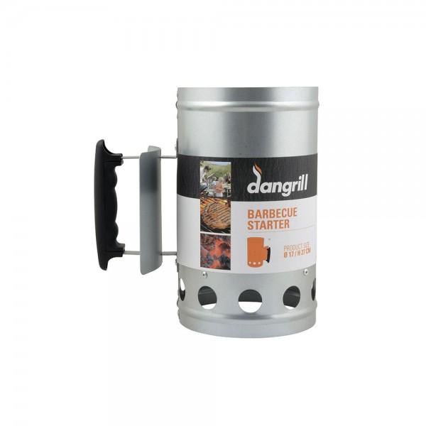 Arrancador-encendedor para carbon 17x27,5cm