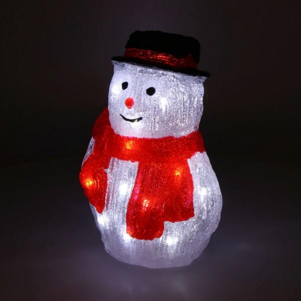 Figura muñeco de nieve led 4 modelos surtidos