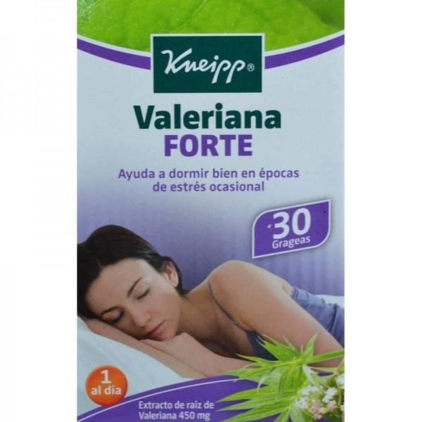 KNEIPP VALERIANA FORTE 30 GRAGEAS